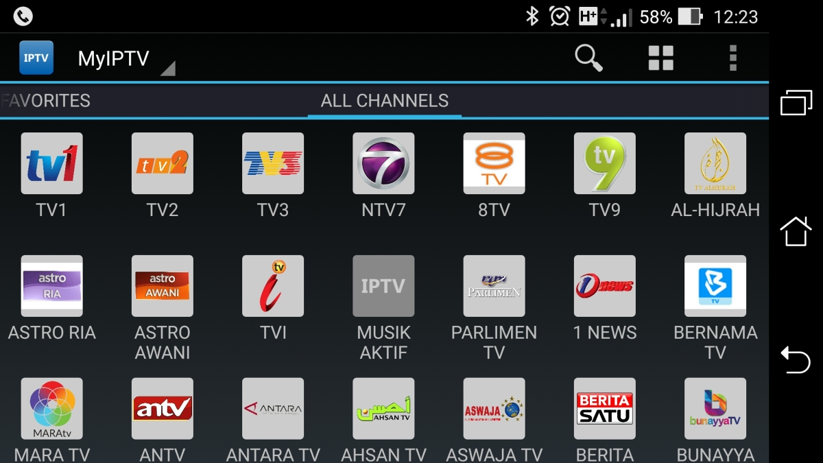 IPTV: Malaysia free over-the-air TV channels