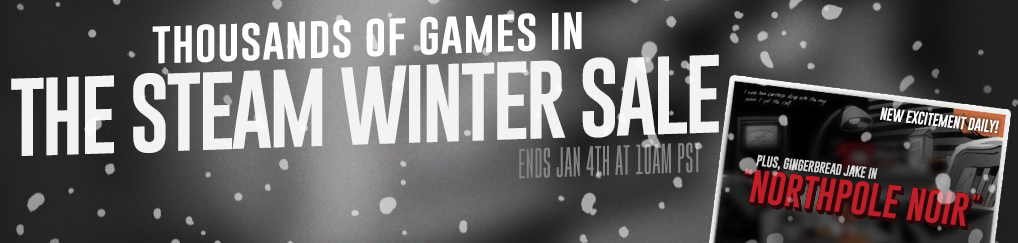 Steam winter sale start today!